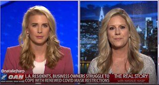 The Real Story - OAN California Chaos with Melanie Burkholder