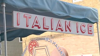 New business owner hopes to fill void in Little Italy with nostalgic Italian ice cart