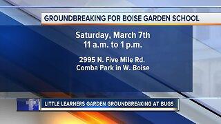 Little Learners Garden groundbreaking at Boise Urban Garden School