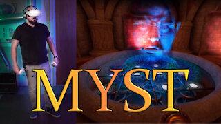 Oculus Quest 2 - Beginner tries Myst VR - Part 1 - (SPOILERS)