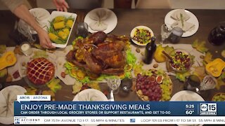 How to pick order pre-made Thanksgiving meals this year