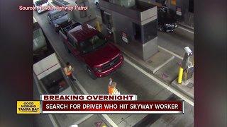 Pickup driver hits Sunshine Skyway Bridge toll worker