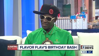 Flavor Flav talks about his 60th Birthday Bash