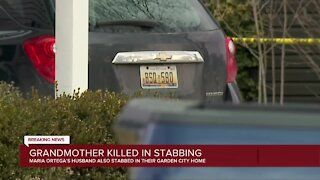 Grandmother killed in stabbing, husband rushed to hospital