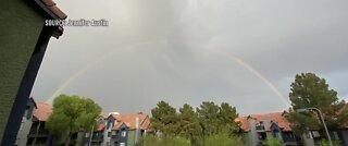 Somewhere over the double rainbow