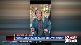 Woman arrested after alleged kidnapping attempt