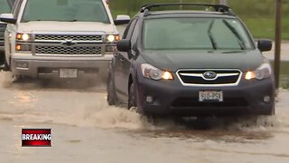 Evacuations in Brown County due to flooding