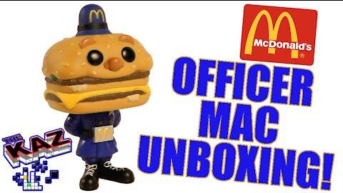 McDonald's Officer Big Mac Funko Pop Unboxing