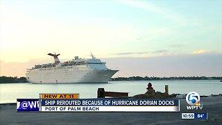 Grand Celebration cruise ship rerouted due to Hurricane Dorian