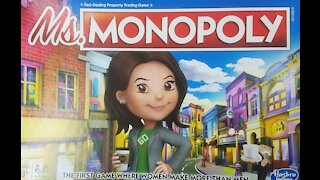 Ms. Monopoly board game (2018, Hasbro) Review
