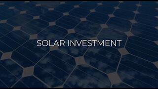 Solar investment tax credit.