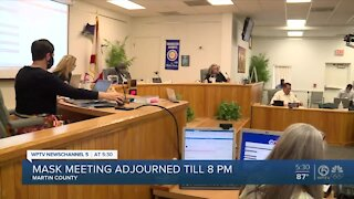 Martin County school leaders discuss face mask policy