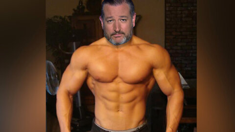 Maskless Ted Cruz vs Biden at Border