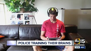 Phoenix police training their brains