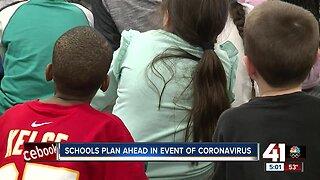 Kansas City-area schools plan ahead in event of coronavirus