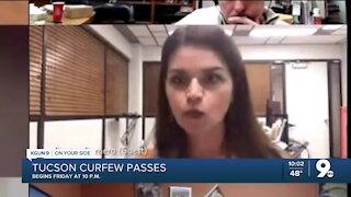 Tucson City Council votes to implement mandatory 10 p.m. curfew