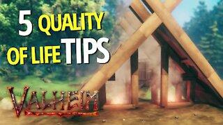 5 Quality Of Life Tips - Valheim
