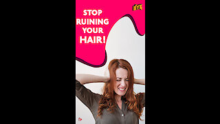 4 Habits That Are Really Bad For Your Hair *