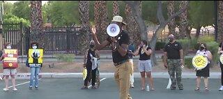 'Strike for Black Lives' rally