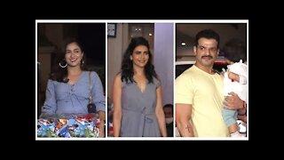 Karan Patel, Karishma tanna & Ridhima Pandit arrive for Ekta Kapoor&rsquo