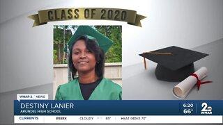 Class of 2020: Destiny Lanier