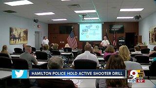 Hamilton police hold active shooter drill