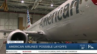 American Airlines' possible layoffs