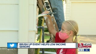 Brush Up Event Helps Low Income Seniors