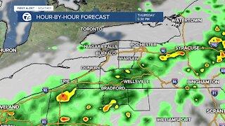 7 First Alert Forecast 12 p.m. Update, Thursday, June 3