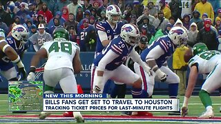 Heading to Houston for Bills playoff game? Here's what you need to know before you book your flight