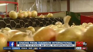 Onions linked to salmonella outbreak