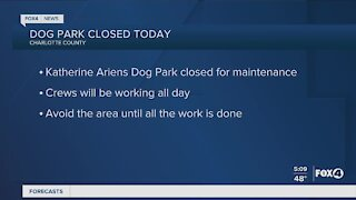 Charlotte County dog park closed