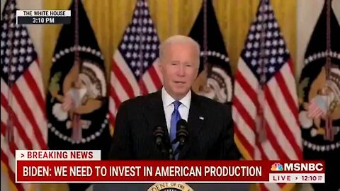 JOE BIDEN COMPLETELY IGNORES QUESTIONS FROM REPORTERS AND WALK AWAY!