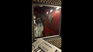 recording new song