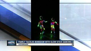 Denmark family creates glowing dance routine