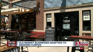 Old Market Businesses Adapting to Weekend Curfew