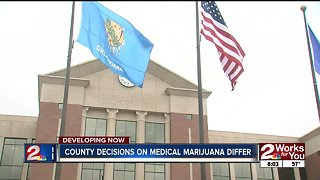 County decisions on medical marijuana differ in Oklahoma
