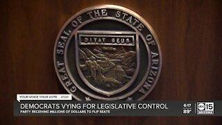 Democrats vying for legislative control