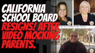 California School Board Resigns After Video Mocking Parents Goes Viral.