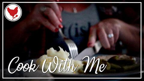 Easy Pork Chop Recipe with Mustard Cream Gravy