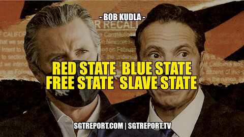 RED STATE BLUE STATE FREE STATE SLAVE STATE -- BOB KUDLA