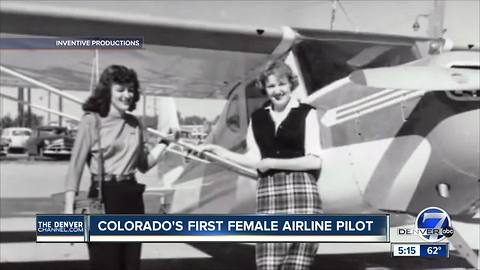 Emily Howell Warner, the first female US commercial airline pilot, is from Colorado