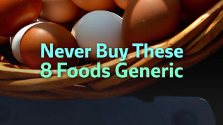 Never Buy These Foods Generic