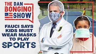 Fauci Says Kids Need to Wear Masks to Play Sports