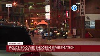 Baltimore Police investigating officer-involved shooting near the Inner Harbor