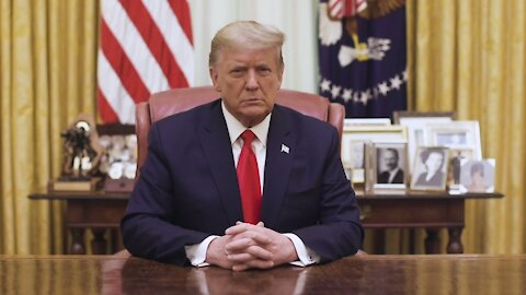 President Trump Issues a statement to America after Impeachment