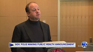 Gov. Jared Polis announces executive order to increase Colorado vaccination rates