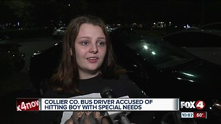 Bus driver accused of hitting child with special needs in Collier County