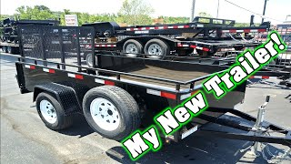 Sure-Trac Utility Trailer 5 x 10 ~ Just Bought a Moving Trailer!! ~