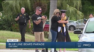 Law enforcement, friends, community members surprise special Cape Coral girl for graduation